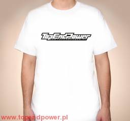 T-Shirt Top End Power wer. 2 (biały)